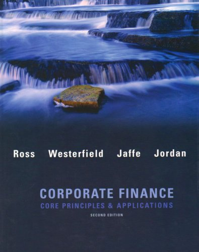 Corporate Finance: Core Principles & Applications 9780077259273