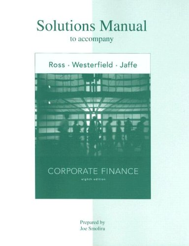 minicase solution fundamental of corporate finance 9th edition