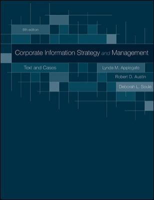 Corporate Information Strategy and Management: Text and Cases 9780073402932