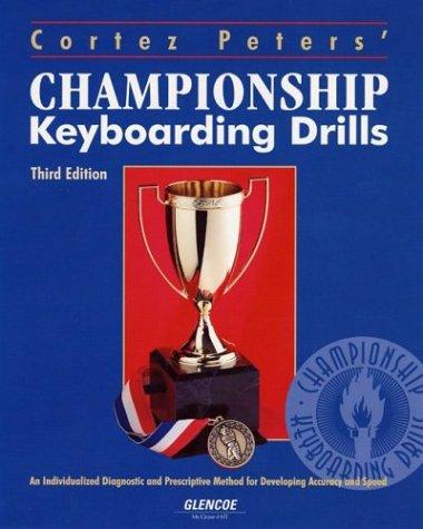 Cortez Peters Champ Key Drills Sftwr Upgrade Home Version Pkg 2001 9780078223822