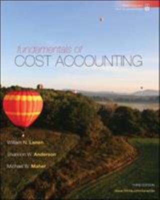 Fundamentals of Cost Accounting 9780073527116