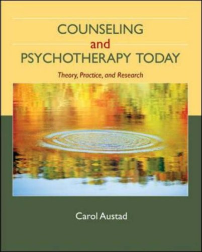 Counseling and Psychotherapy Today: Theory, Practice, and Research 9780073112251