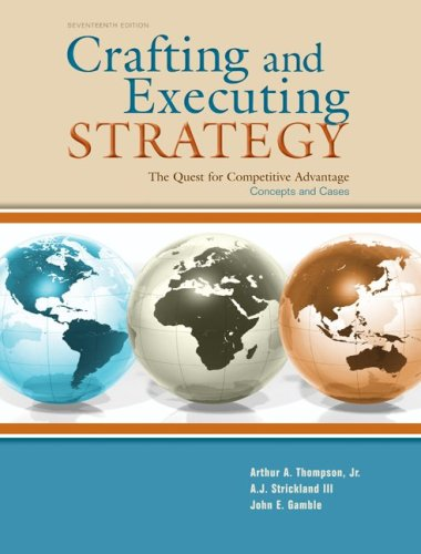 crafting and executing strategy 18th edition page 48 Coupon: rent crafting & executing strategy the quest for competitive  advantage:  crafting & executing strategy 18th edition 9780078112720  0078112729  re-examination of every paragraph on every page of the 17th  edition chapters.