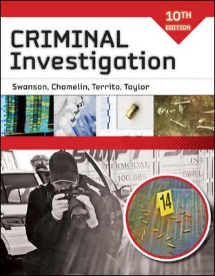 Criminal Investigation Criminal Investigation 9780073401539