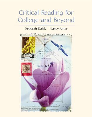 Critical Reading for College and Beyond 9780072473766