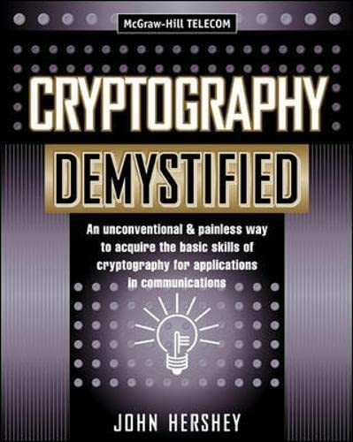 Cryptography Demystified 9780071406383