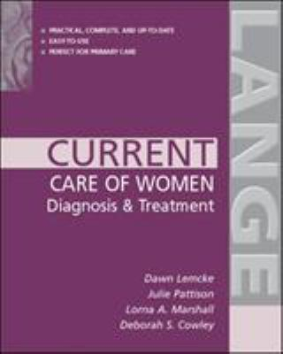Current Care of Women: Diagnosis & Treatment 9780071387705
