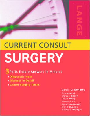 Current Consult Surgery 9780071423137