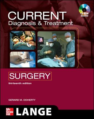 Current Diagnosis & Treatment Surgery [With CDROM] 9780071635158