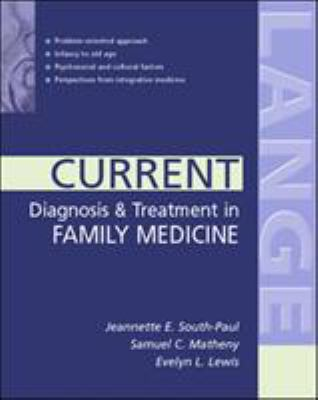 Current Diagnosis & Treatment in Family Medicine 9780071390880