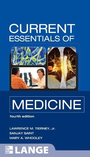 Current Essentials of Medicine 9780071637909