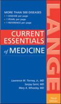 Current Essentials of Medicine, Third Edition 9780071438322