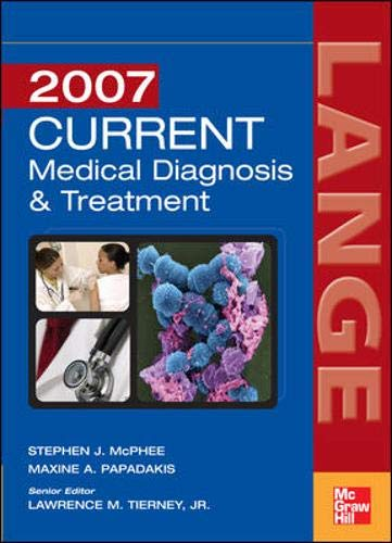 Current Medical Diagnosis & Treatment 9780071472470
