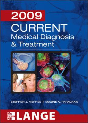 Current Medical Diagnosis & Treatment 9780071591249