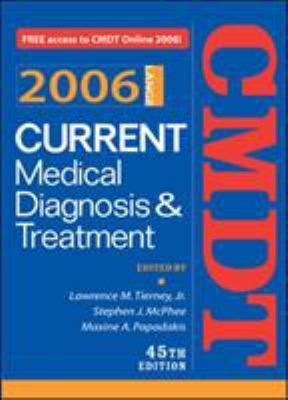Current Medical Diagnosis & Treatment 9780071454100
