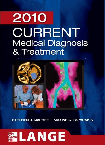 Current Medical Diagnosis and Treatment 2010, Forty-Ninth Edition 9780071624442