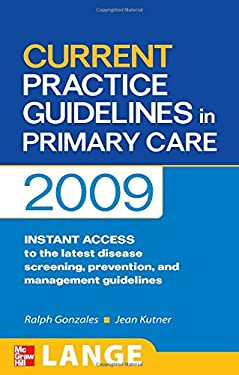 Current Practice Guidelines in Primary Care 9780071601337