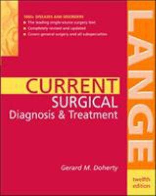 Current Surgical Diagnosis & Treatment 9780071423151