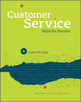 Customer Service Skills for Success 9780073397115