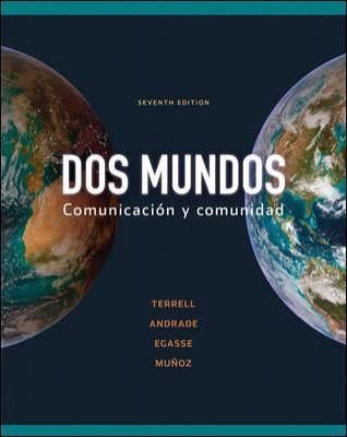 Dos Mundos Comunicacion y Comunidad with access code 9780077388751