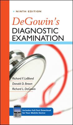 DeGowin's Diagnostic Examination [With Access Code] 9780071478984