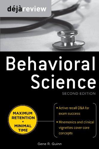Deja Review Behavioral Science 9780071627283