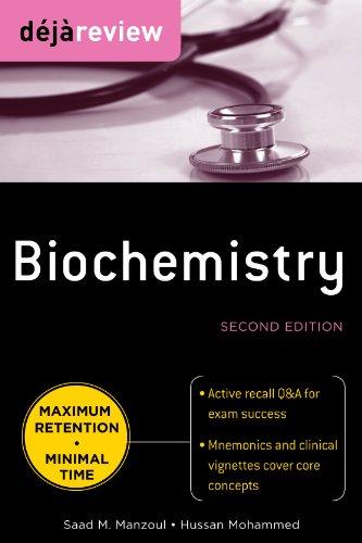 Deja Review: Biochemistry 9780071627177
