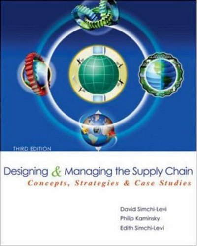 Design Managing Supply Chain 9780072982398