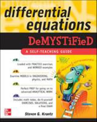 Differential Equations Demystified 9780071440257