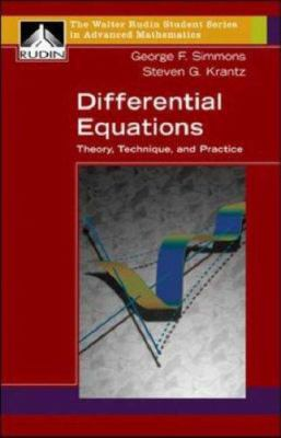 Differential Equations: Theory, Technique, and Practice 9780072863154