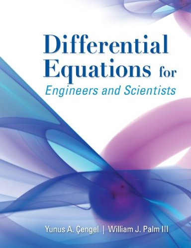 Differential Equations for Engineers and Scientists 9780073385907