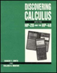 Discovering Calculus with the HP-28 and the HP-48 9780070591790