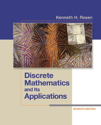 Discrete Mathematics and Its Applications 9780073383095
