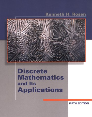 Discrete Mathematics and Its Applications 9780072424348