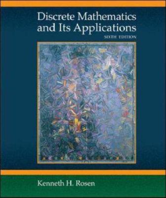 Discrete Mathematics and Its Applications - 6th Edition