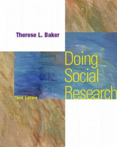 Doing Social Research 9780070060029