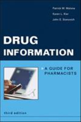 Drug Information: A Guide for Pharmacists 9780071437912