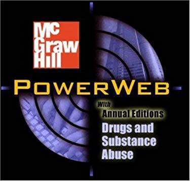 Drugs in Modern Society W/Powerweb Drugs Mandatory Pkg. 9780072484014