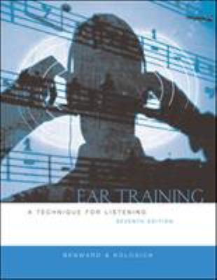 Ear Training W/Transcription CD 9780073015958