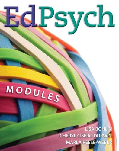 EdPsych: Modules 9780073378503