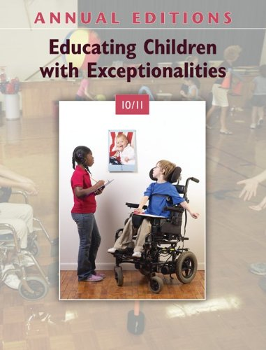 Educating Children with Exceptionalities 10/11 9780078135873