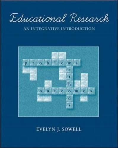 Educational Research: An Integrative Introduction 9780070598171