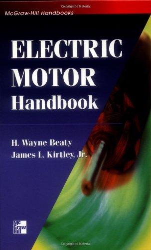 Electric Motor Handbook 9780070359710