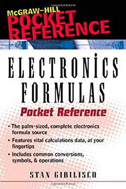 Electronics Formulas Pocket Reference 9780071353168