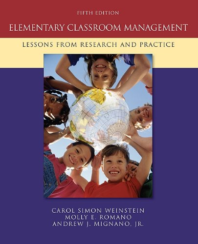 Elementary Classroom Management: Lessons from Research and Practice 9780073378626