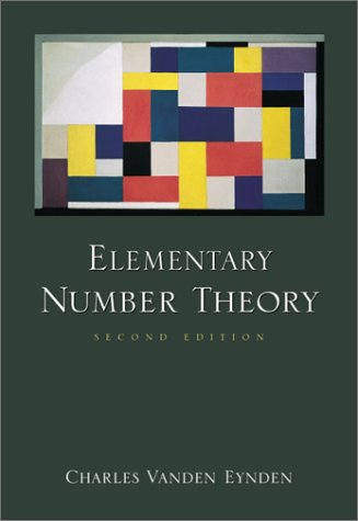 Elementary Number Theory 9780072325713