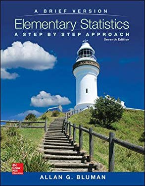 Elementary Statistics : A Step by Step Approach: A Brief Version