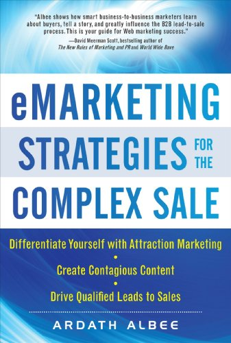 Emarketing Strategies for the Complex Sale 9780071628648