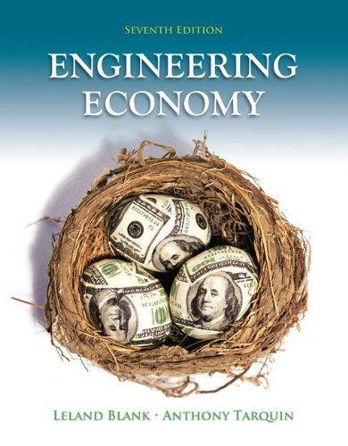 Engineering Economy 9780073376301