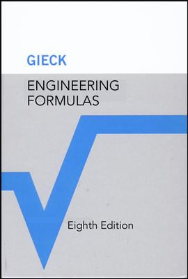 Engineering Formulas 9780071457743